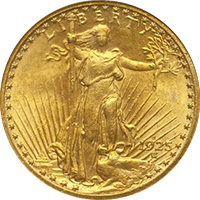 1925 S St Gaudens Double Eagle