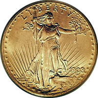1925 St Gaudens Double Eagle