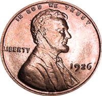 1926 D Wheat Penny