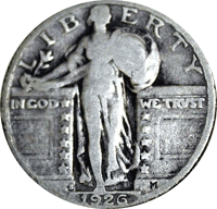 1926 S Standing Liberty Quarter Value Cointrackers