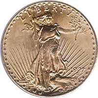 1927 D St Gaudens Double Eagle