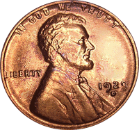 1929 S Wheat Penny