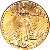 1929 St Gaudens Double Eagle