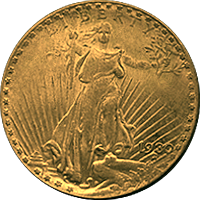 1930 S St Gaudens Double Eagle