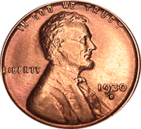 1930 S Wheat Penny