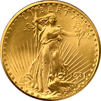 1931 St Gaudens Double Eagle