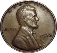 1933 D Wheat Penny