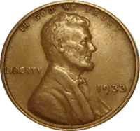 1933 Wheat Penny