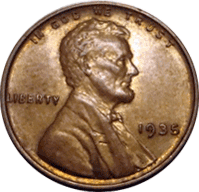 1935 D Wheat Penny