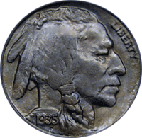 1935 P Buffalo Nickel