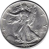 1935 S Walking Liberty Half Dollar Value | CoinTrackers