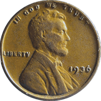 1936 Wheat Penny