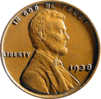1938 Wheat Penny