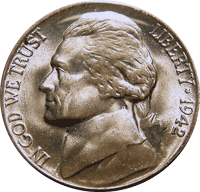 1942 Jefferson Nickel Value | CoinTrackers