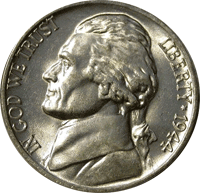 1944 P Jefferson Nickel Value Cointrackers