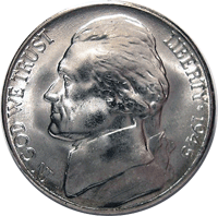 1945 D Jefferson Nickel