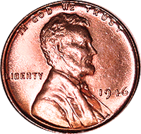 1946 S Wheat Penny