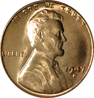 1947 S Wheat Penny