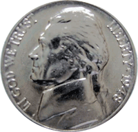 1948 S Jefferson Nickel