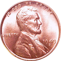 1949 S Wheat Penny