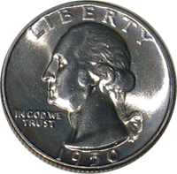 1950 S Washington Quarter