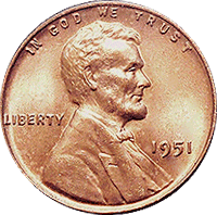 1951 Wheat Penny Value | CoinTrackers