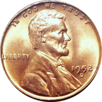 1952 D Wheat Penny Value | CoinTrackers