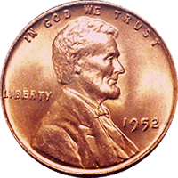 1952 Wheat Penny