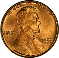 1955 Wheat Penny Value | CoinTrackers