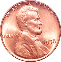 1956 Wheat Penny Value | CoinTrackers