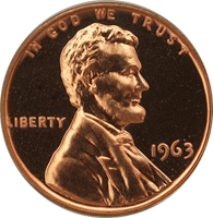 1963 D Lincoln Penny
