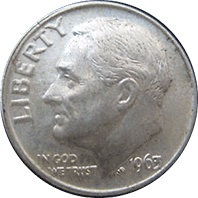 1963 Roosevelt Dime Value