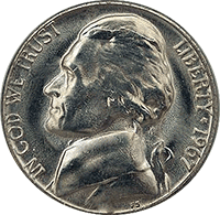 1967 Jefferson Nickel
