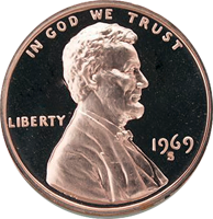 1969 D Lincoln Penny Value | CoinTrackers