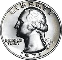 1971 D Washington Quarter Value