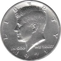8 J.F.Kennedy half dollars uncirculated 1971 1971D 1972 1974 1976 1977 1979 80