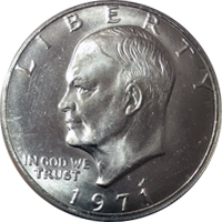 1971 S Eisenhower Dollar Proof