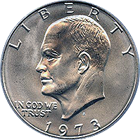 1973 S Eisenhower Dollar Proof