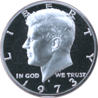 1973 S Kennedy Half Dollar Proof