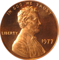 1977 D Lincoln Penny Value Cointrackers
