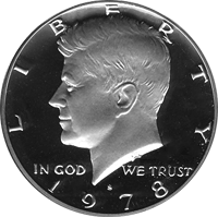 1978 S Kennedy Half Dollar Proof