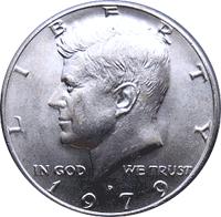 1979 D  Kennedy Half Dollar ~ Nice  BU Condition