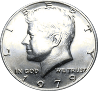 1979 Kennedy Half Dollar Value Cointrackers