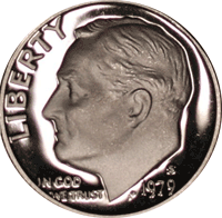 1979 S Roosevelt Dime Proof