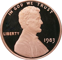 1983 D Lincoln Penny