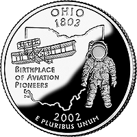 2002 S Ohio State Quarter Proof