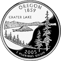 2005 S Oregon State Quarter Proof