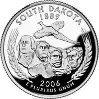 2006 P South Dakota State Quarter