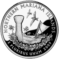 2009 P Mariana Islands Quarter