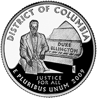 2009 S District Of Columbia Quarter Proof